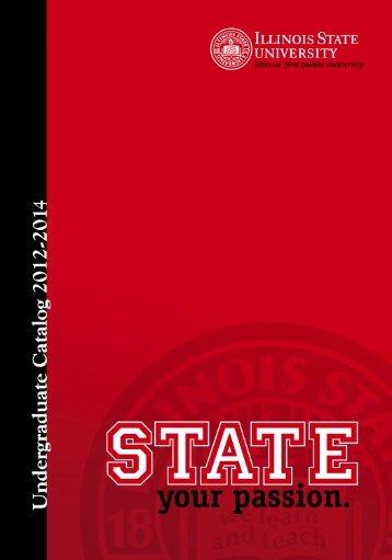 Undergraduate Catalog - Illinois State University
