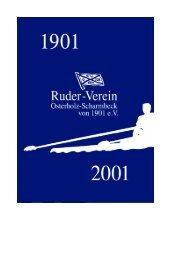 Von der Gründung bis zur Gegenwart - RV OSCH - Ruderverein ...