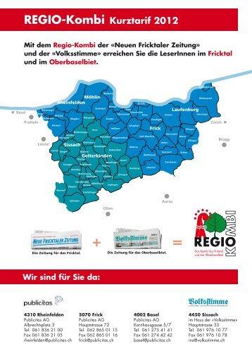 REGIO-Kombi Kurztarif 2012 - Volksstimme - Die Zeitung für das ...