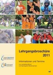 Lehrgang - Stadtsportbund Hannover e.V.