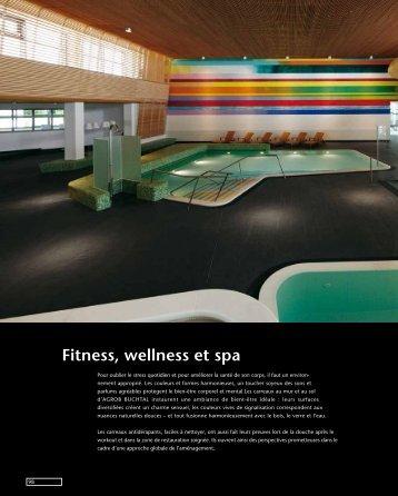 Fitness, wellness et spa