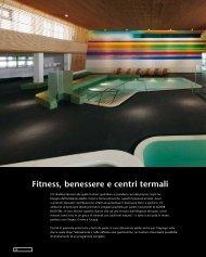 Fitness, benessere e centri termali