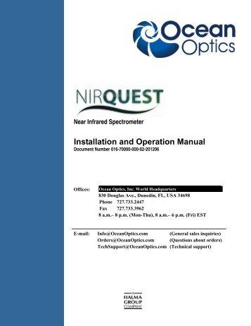 Ocean optics usb2000