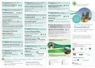 Tagesprogramm Sonntag, 24. Juni - Naturpark Hohe Mark
