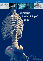 Arabian Product & Buyer´s Guide - arab medico