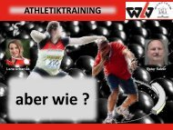 Konditionstraining – aber wie? - Swiss Athletics