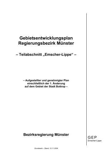 "Teilabschnitt ""Emscher-Lippe"" - Metropole Ruhr"