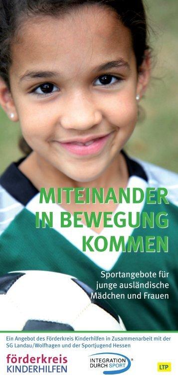 MITEINANDER IN BEWEGUNG KOMMEN - TSV Landau