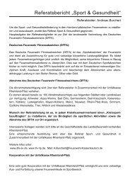 Referat Sport und Gesundheit - Landesfeuerwehrverband ...
