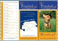 Flyer mit unseren Produkten - Friesenhunde