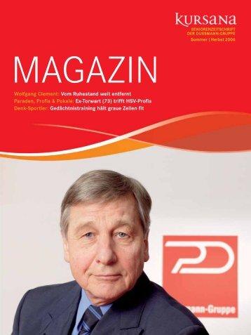 PDF Kursana Magazin 01/06 Domizil - Dussmann