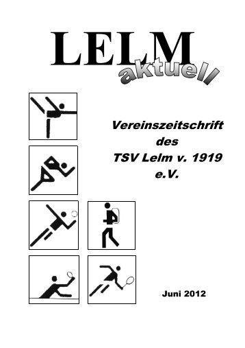 Vereinszeitschrift des TSV Lelm v. 1919 e.V.