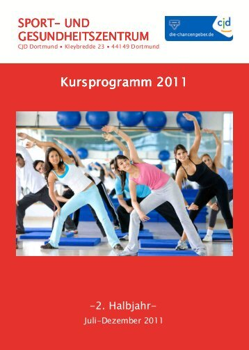 14. Programmheft 2. Halbjahr 2011 - CJD Dortmund - Sport- und ...