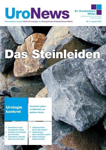 Urologie konkret - Evangelisches Krankenhaus Witten