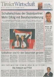 Tiroler Wirtschaft Spezial - HUSSL.com