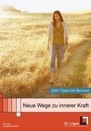 Neue Wege zu innerer Kraft - Dr. Loges und Co. GmbH