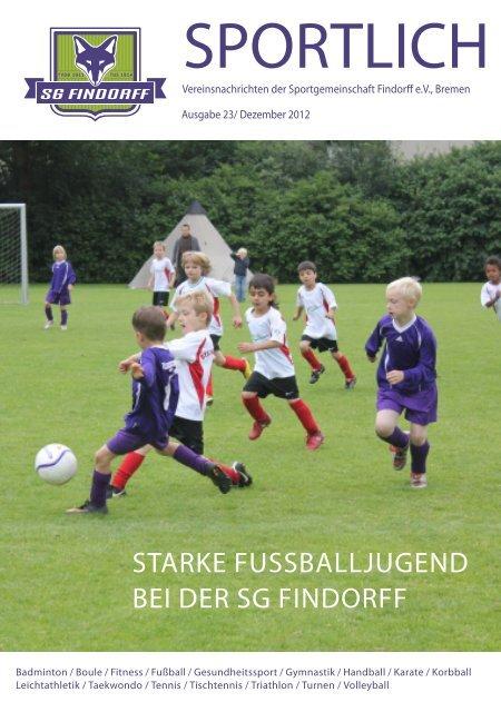 Vereinszeitung Nr. 23 - SG-Findorff eV