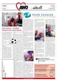 aktuell (Ausgabe 3/2011) - AWO Ruhr-Mitte
