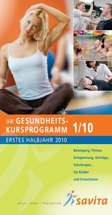 gesundheits- kursprogramm