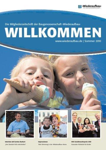 willkommen - Wiederaufbau