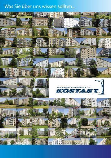 Was Sie über uns wissen sollten... - Wohnungsbau-Genossenschaft ...