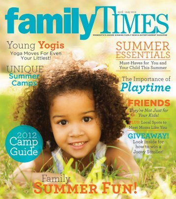 Summer Camps - Family Times Magazine