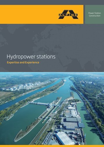 Hydropower stations