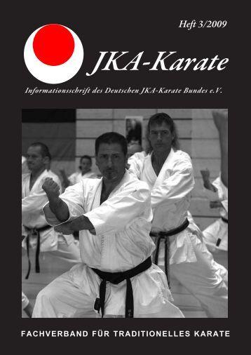 Heft 3/2009 - Deutscher JKA-Karate-Bund e.V.