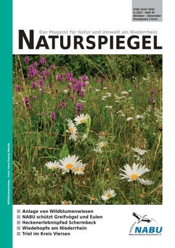 NATURSPIEGEL Heft 4 2012 - NABU Krefeld/Viersen