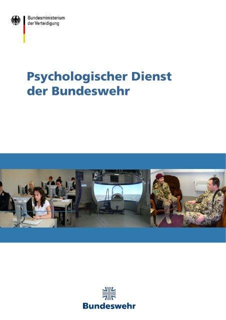 Psychologischer Dienst der Bundeswehr - Ziviler Arbeitgeber ...