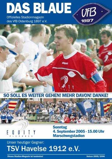 Vor 15 Jahren… - VfB Oldenburg