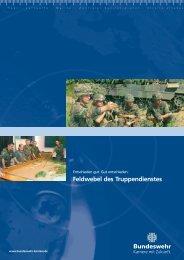 Feldwebel des Truppendienstes - bundeswehr-karriere