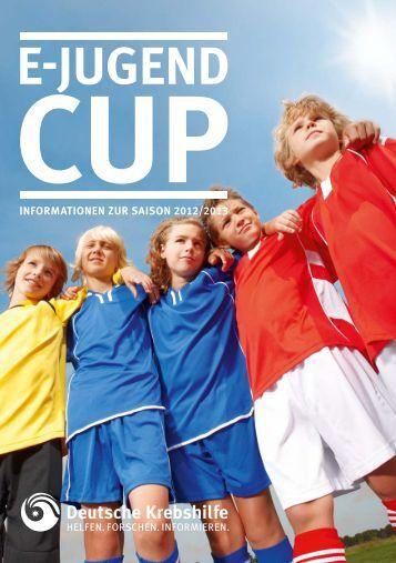 Broschüre E-Jugend-Cup - Deutsche Krebshilfe eV