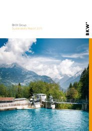 BKW Group Sustainability Report 2011