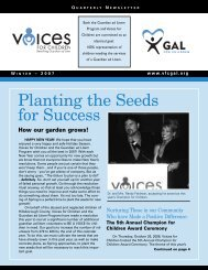 Planting the Seeds for Success - Allison Cuffaro, Tampa, Florida