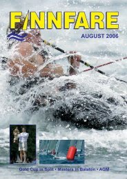 9th July 2006 - Finn
