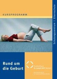 Rund um die Geburt - Krankenhaus St. Joseph-Stift Bremen