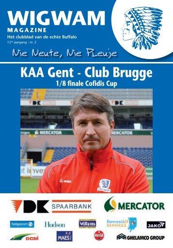 Terug in de tijd CLUB BRUGGE - KAA Gent