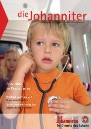 Erste Hilfe im Kindergarten - Die Johanniter