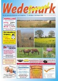 Juli/August 2008 - Wedemark Journal und Kulturjournal190