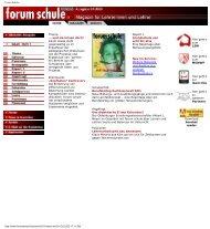 Forum Schule - Stiftung Partner für Schule NRW