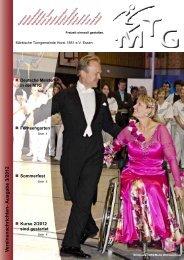 V ereinsnachrichten- Ausgabe 3/2012 - MTG Horst