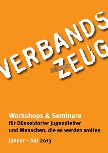 Und so geht es im 2. Halbjahr 2013 weiter - Jugendring Düsseldorf