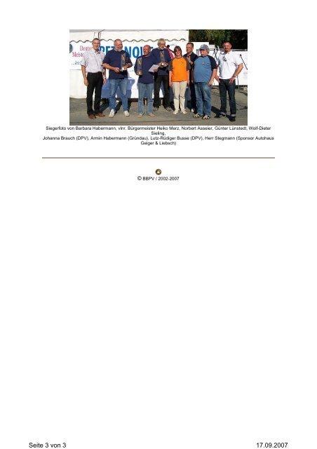 1. DM TRIPLETTE 55+ 2007 - Les Primeurs