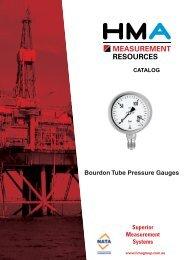 Bourdon Tube Pressure Gauges - Measurement Resources