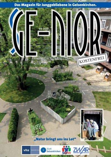 Es lebe der Friedhof! Mehr Infos unter - Stadt Gelsenkirchen