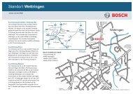 Standort Wettringen - Bosch Thermotechnik GmbH