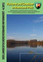 Aktuelles Heft 4 / 2012 - Landesfischereiverband Rheinland-Pfalz e.V.