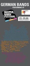 HAMBURG, GERMANY - Initiative Musik