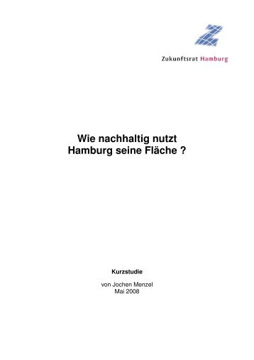 052808 Studie Flächennutzung - Zukunftsrat Hamburg